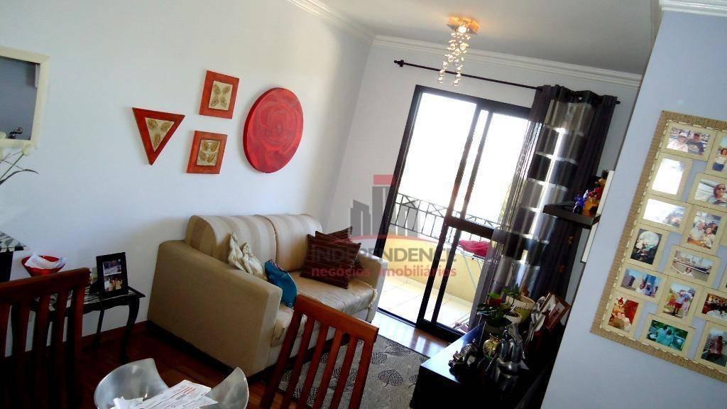 apartamento à venda, 55 m² por r$ 250.000,00 - jardim satélite - são josé dos campos/sp - ap2966
