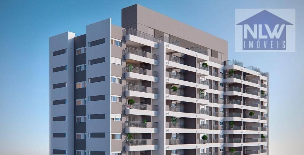 apartamento à venda, 55 m² por r$ 415.499,00 - tatuapé - são paulo/sp - ap1080