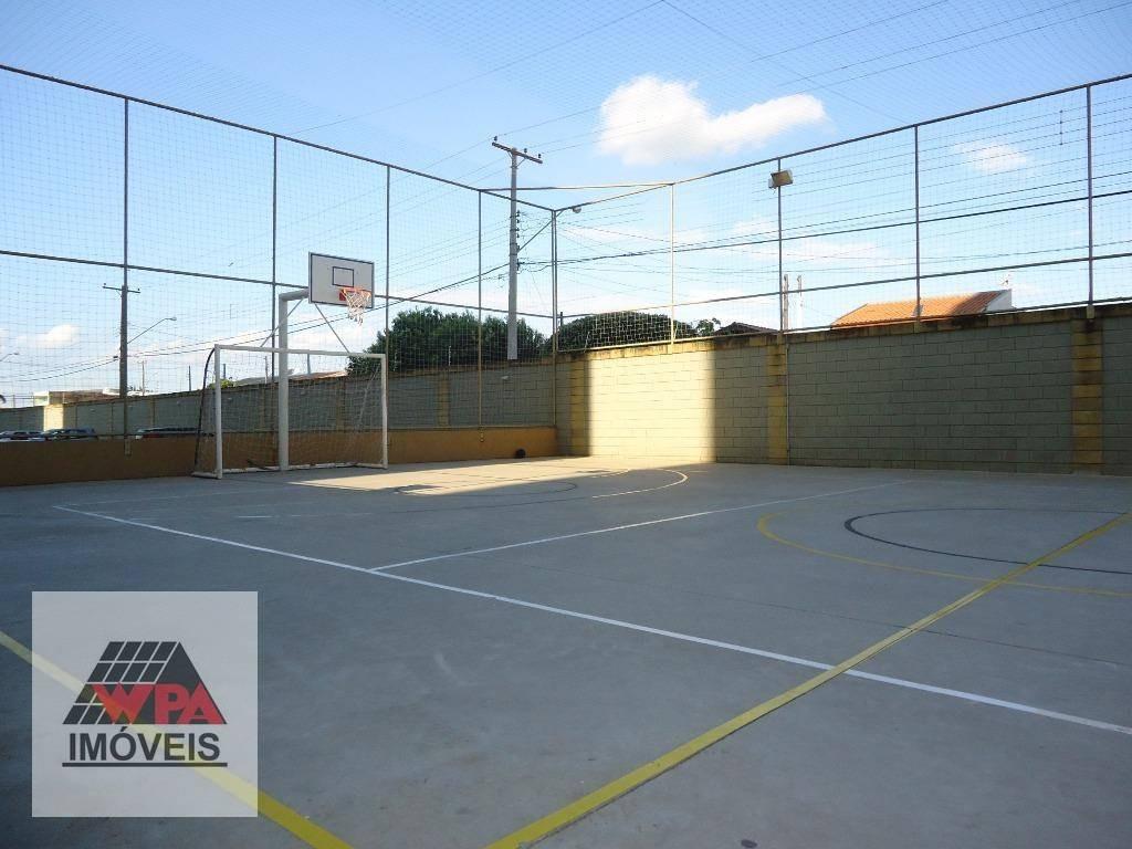 apartamento à venda, 58 m² por r$ 230.000,00 - jardim marajoara - nova odessa/sp - ap1553