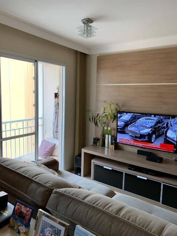 apartamento à venda, 58 m² por r$ 425.000,00 - tatuapé - são paulo/sp - ap19724