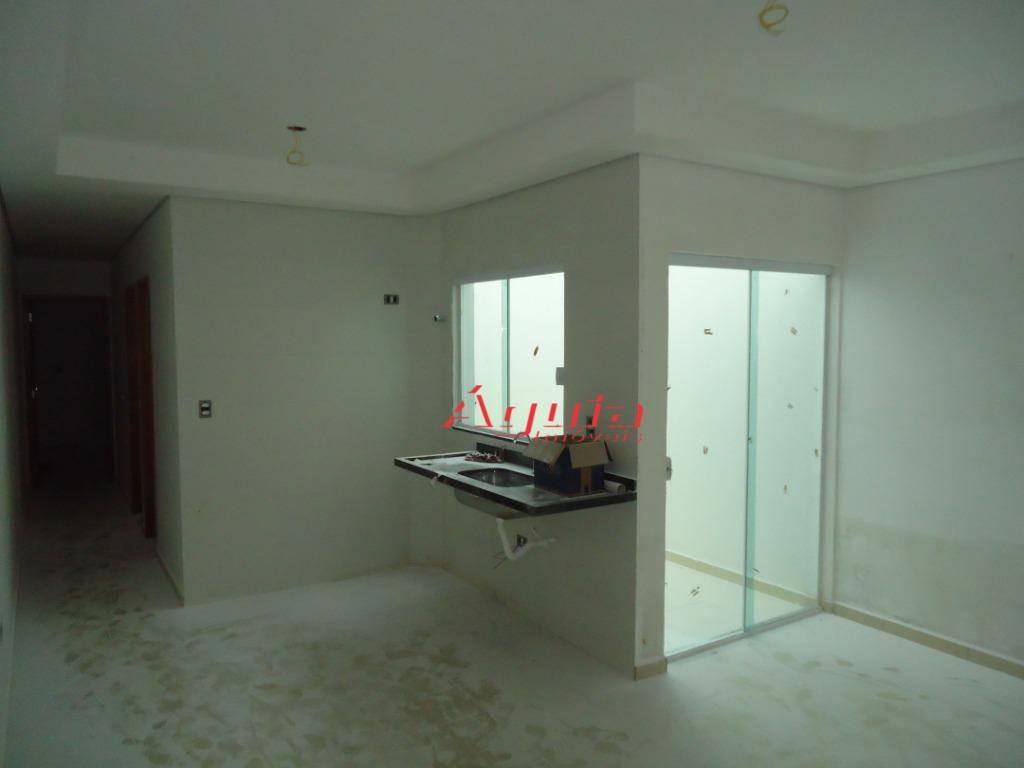 apartamento à venda, 59 m² por r$ 250.000,00 - jardim santo antônio - santo andré/sp - ap1699
