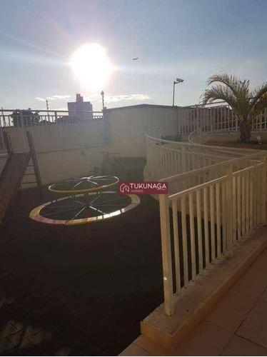 apartamento à venda, 59 m² por r$ 320.000,00 - gopoúva - guarulhos/sp - ap2749