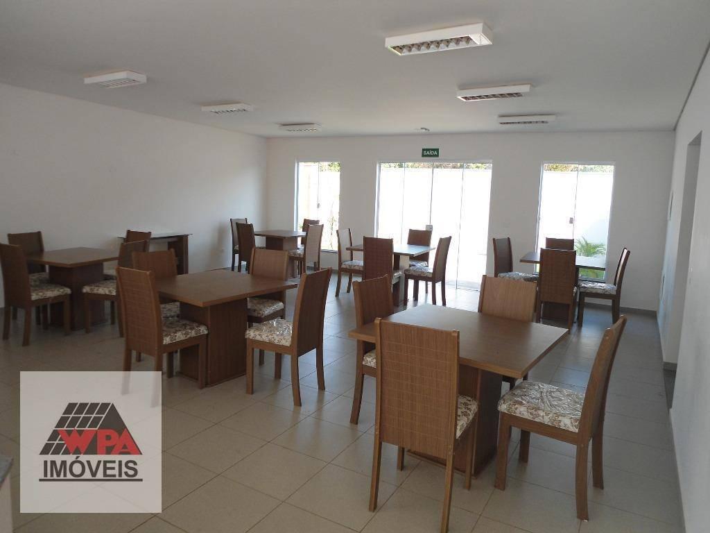 apartamento à venda, 60 m² por r$ 210.000,00 - jardim dona regina - santa bárbara d'oeste/sp - ap1319