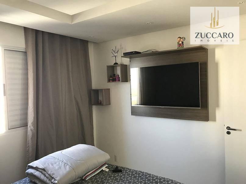 apartamento à venda, 60 m² por r$ 269.000,00 - ponte grande - guarulhos/sp - ap12865