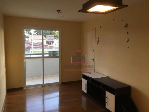 apartamento à venda, 60 m² por r$ 270.000,00 - jardim satélite - são josé dos campos/sp - ap2963