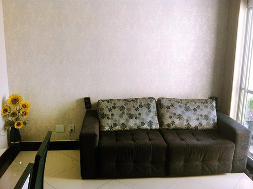 apartamento à venda, 61 m², 3 dormitórios (1 suíte), vila alzira, santo andré. - ap1373