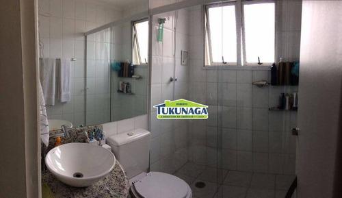 apartamento à venda, 62 m² por r$ 330.000,00 - vila augusta - guarulhos/sp - ap0632