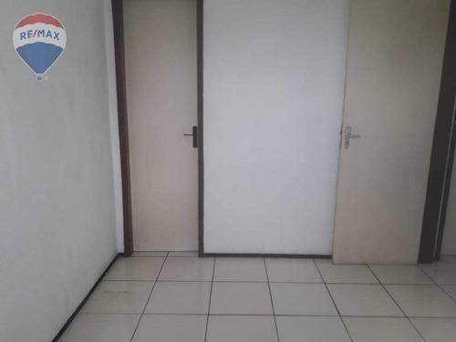 apartamento à venda, 63 m² - parque tabapua - caucaia/ce - ap0324