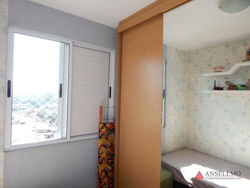 apartamento à venda, 63 m² por r$ 270.000,00 - baeta neves - são bernardo do campo/sp - ap1732
