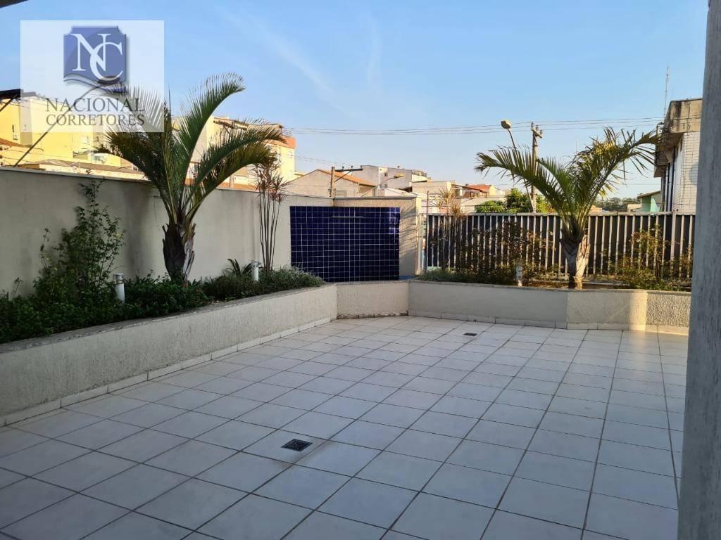 apartamento à venda, 65 m² por r$ 300.000,00 - vila camilópolis - santo andré/sp - ap4972