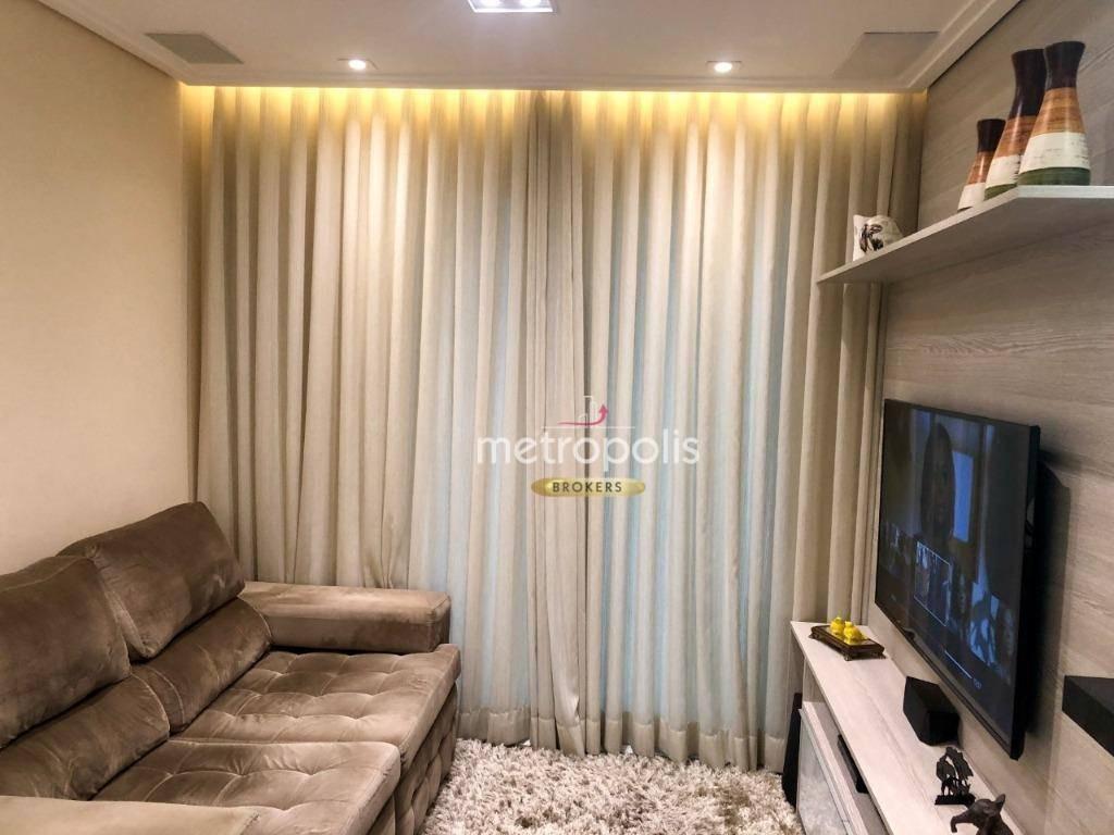 apartamento à venda, 65 m² por r$ 560.000,00 - jardim são caetano - são caetano do sul/sp - ap2917