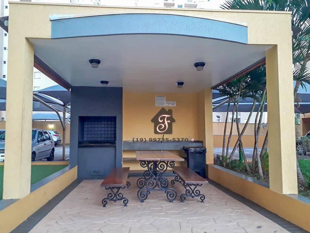 apartamento à venda, 68 m² - bonfim - campinas/sp - ap1453