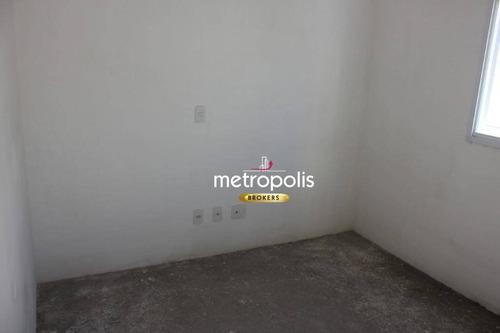 apartamento à venda, 68 m² por r$ 382.000,00 - barcelona - são caetano do sul/sp - ap2446
