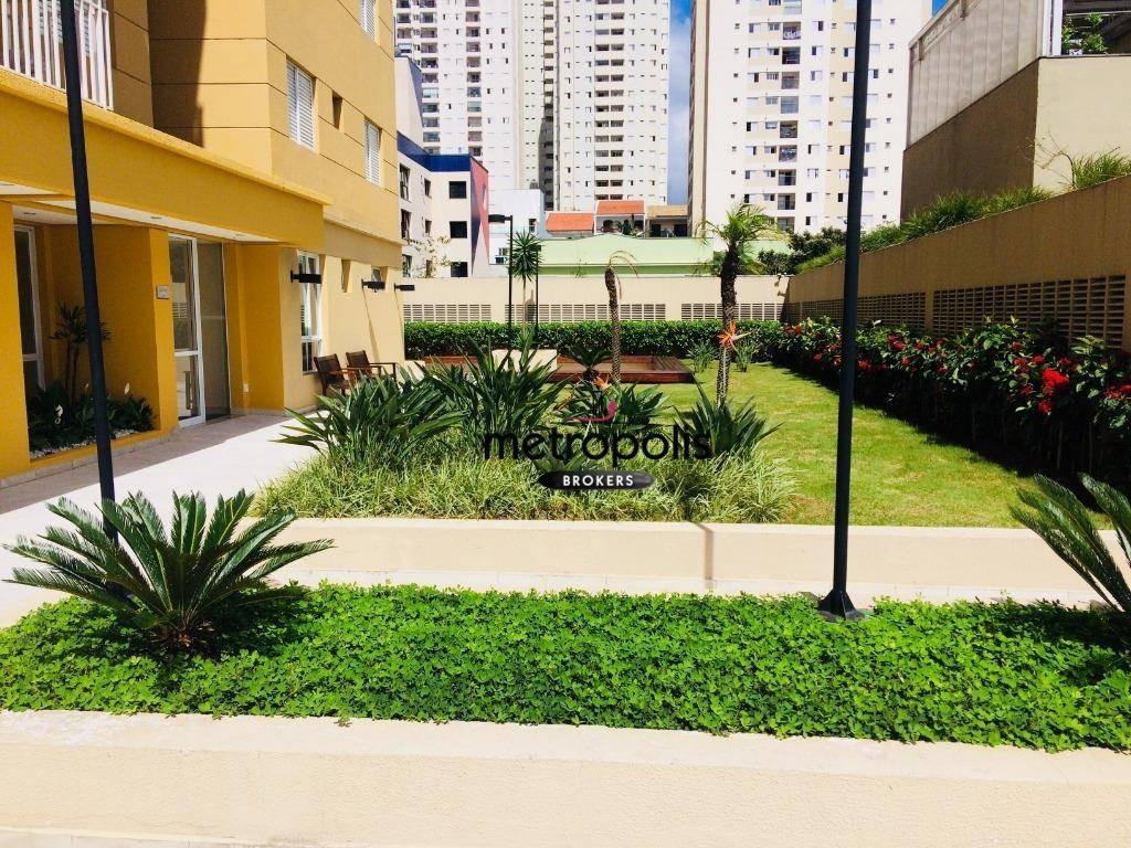 apartamento à venda, 68 m² por r$ 450.000,00 - olímpico - são caetano do sul/sp - ap1463