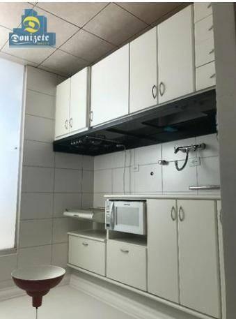 apartamento à venda, 68 m² por r$ 479.500,00 - jardim - santo andré/sp - ap9769