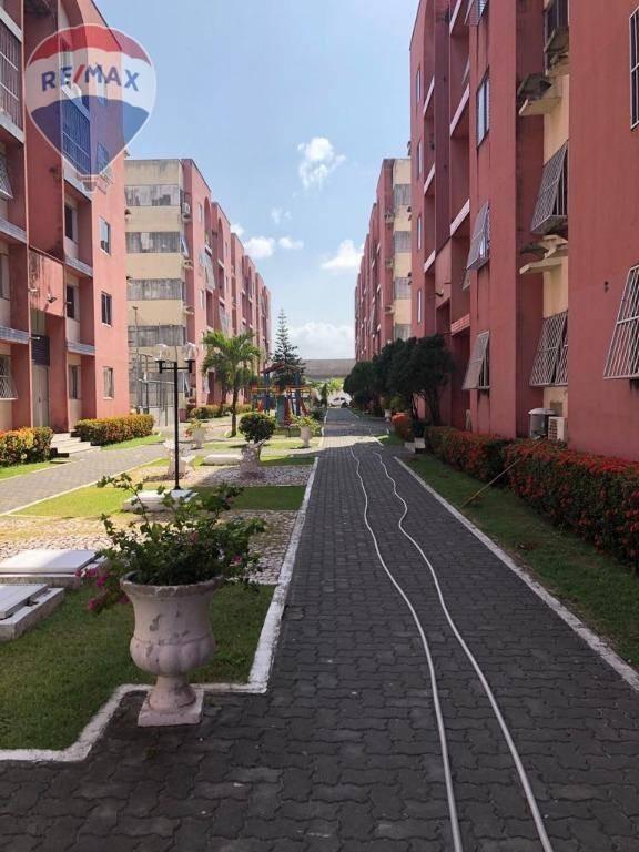 apartamento à venda, 68 m² - tabapuá - caucaia/ce - ap0337