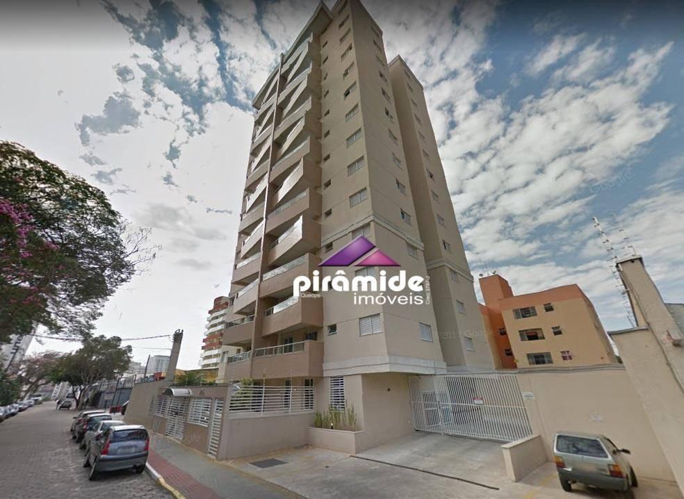apartamento à venda, 69 m² por r$ 380.000,00 - jardim são dimas - são josé dos campos/sp - ap8436