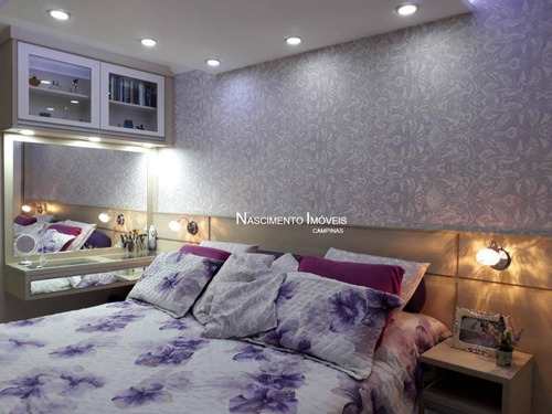 apartamento à venda, 70 m² por r$ 325.000 - vila industrial - campinas/sp - ap0519