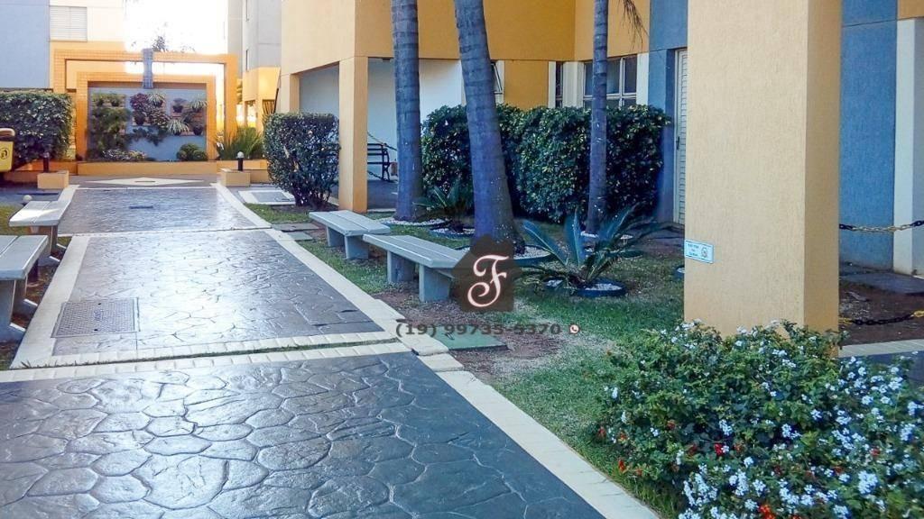 apartamento à venda, 72 m² - bonfim - campinas/sp - ap1461