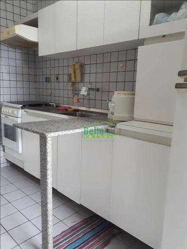 apartamento à venda, 72 m² por r$ 360.000,00 - tamarineira - recife/pe - ap1118