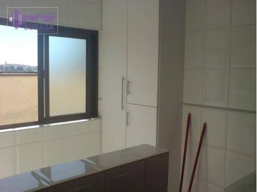 apartamento à venda, 73 m² por r$ 405.000,00 - barcelona - são caetano do sul/sp - ap0987