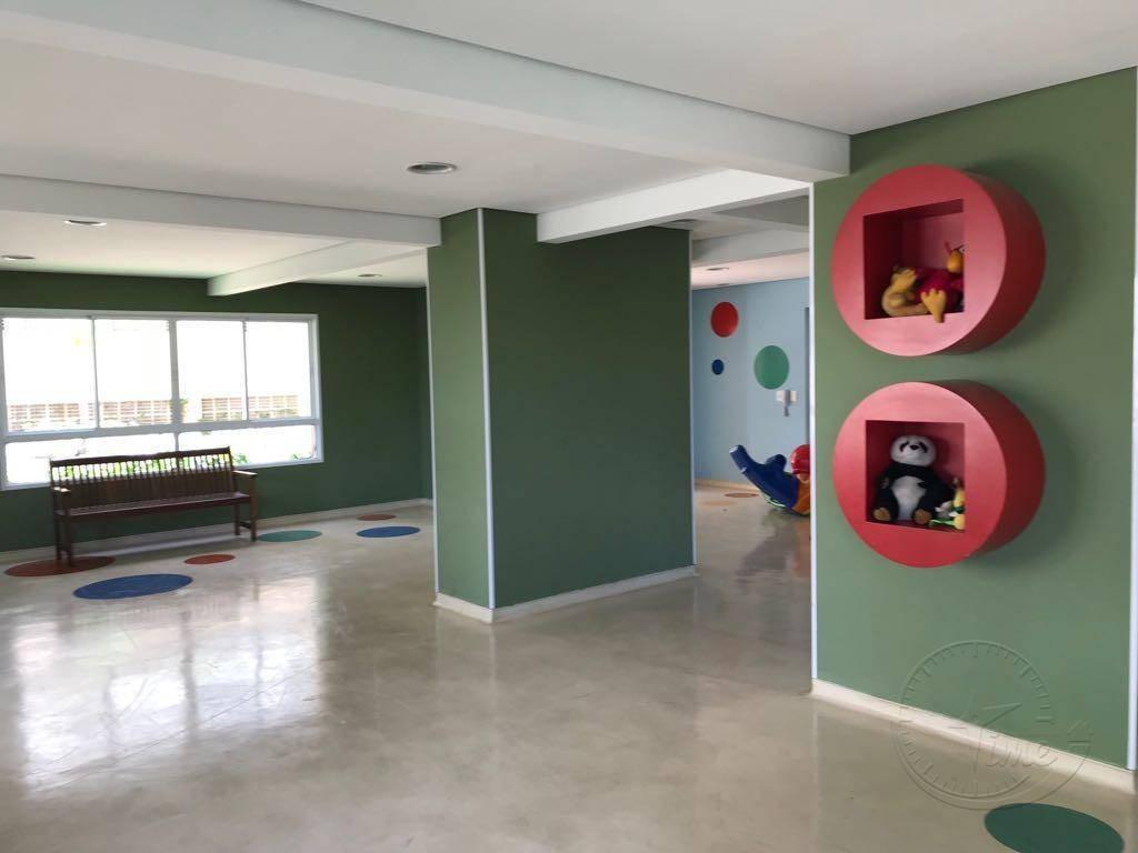 apartamento à venda, 74 m² por r$ 414.000,00 - jardim tupanci - barueri/sp - ap0902