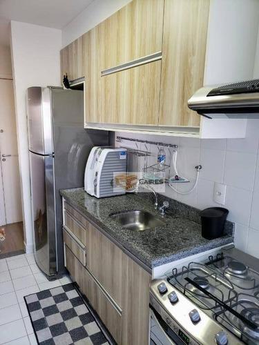 apartamento à venda, 75 m² por r$ 460.000 - parque prado - campinas/sp - ap5373