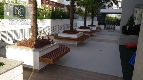apartamento à venda, 76 m² por r$ 500.000,00 - vila floresta - santo andré/sp - ap8781