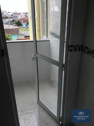 apartamento à venda, 79 m² por r$ 249.000,00 - boneca do iguaçu - são josé dos pinhais/pr - ap0371