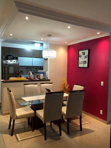 apartamento à venda, 79 m² por r$ 380.000,00 - jardim tupanci - barueri/sp - ap0132