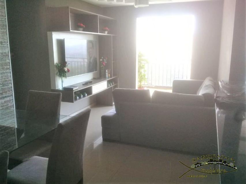 apartamento à venda - 79m² com 3 dormitórios, 1 suíte, área de serviço e 2 vagas de garagem - chácara agrinuds - taboão da serra - sp - ml1278