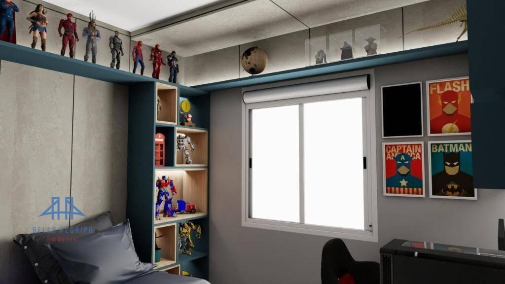 apartamento à venda, 82 m² por r$ 583.000,00 - roçado - são josé/sc - ap2963