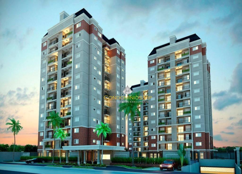 apartamento à venda, 85 m² por r$ 572.000,00 - parque campolim - sorocaba/sp - ap0909