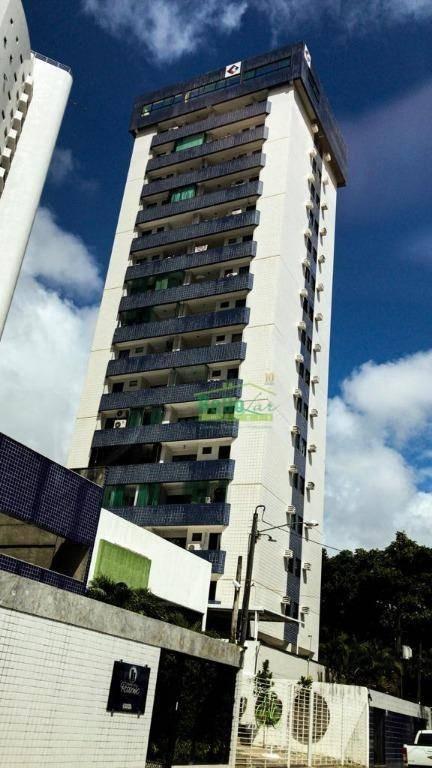 apartamento à venda, 86 m² por r$ 385.000,00 - rosarinho - recife/pe - ap3216