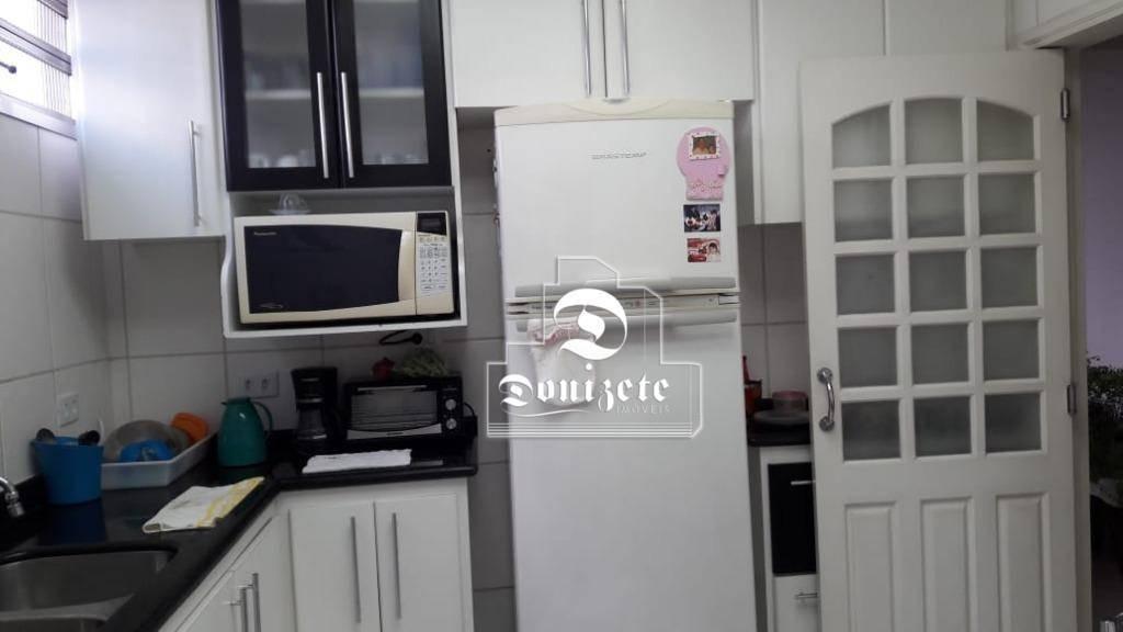 apartamento à venda, 88 m² por r$ 425.000,00 - vila assunção - santo andré/sp - ap9467