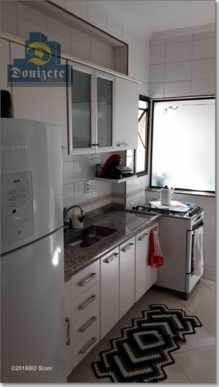 apartamento à venda, 90 m² por r$ 409.000,10 - vila assunção - santo andré/sp - ap2085