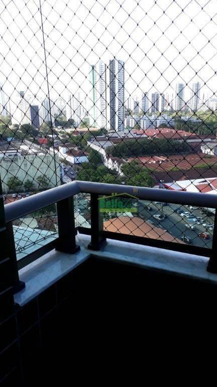 apartamento à venda, 90 m² por r$ 600.000,00 - torre - recife/pe - ap3208
