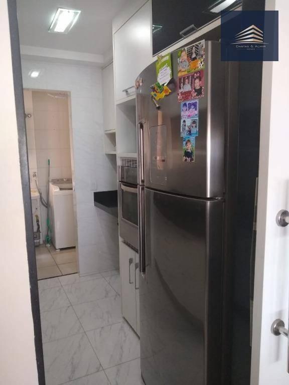 apartamento à venda, 91 m² por r$ 600.000,00 - vila augusta - guarulhos/sp - ap0800