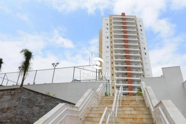 apartamento à venda, 94 m² por r$ 579.000,00 - vila valparaíso - santo andré/sp - ap9598
