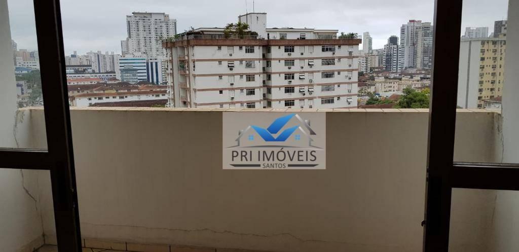apartamento à venda, 97 m² por r$ 620.000,00 - boqueirão - santos/sp - ap0488