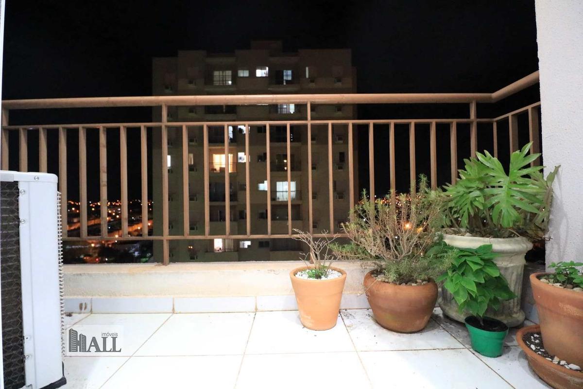 apartamento à venda altos do iboruna, 3dorms, 2vgs - rio preto - v6322