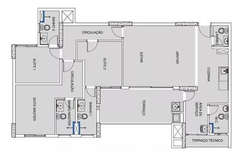 apartamento à venda  - baeta neves - são bernardo do campo/sp - ap6064
