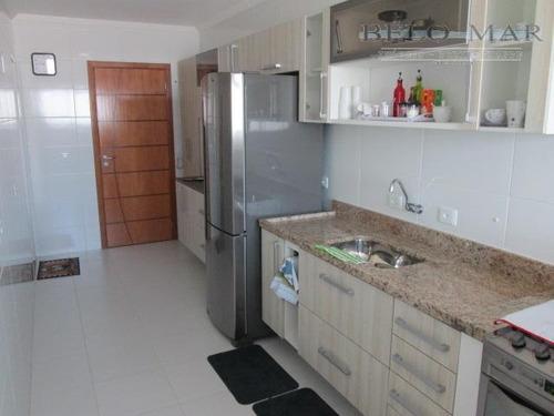 apartamento à venda, boqueirão, praia grande. - codigo: ap0397 - ap0397