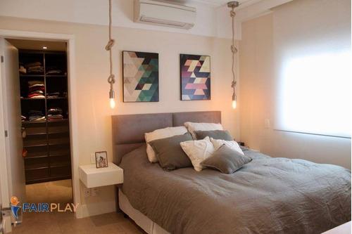 apartamento venda brooklin 2 dorm 2 suites 2 vagas 138m - ap4600