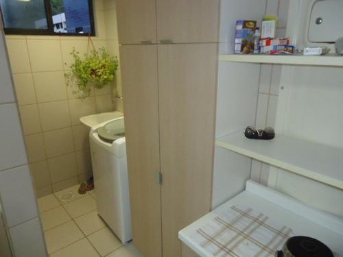 apartamento à venda, cabo branco, 3 quartos, 3 vagas, beira