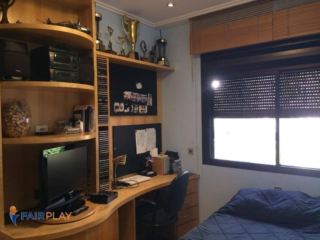 apartamento venda campo belo 4 dorm 4 suites 7 vagas 275m - ap4223