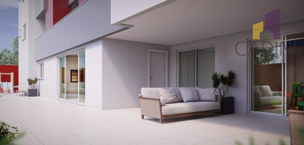 apartamento à venda com 2 quartos sendo 1 suíteno bairro coqueiral - cascavel/pr - ap0110