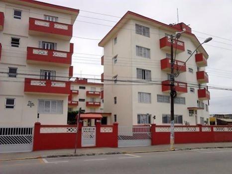 apartamento à venda com 3 dormitórios em itanhaém. ref. 351