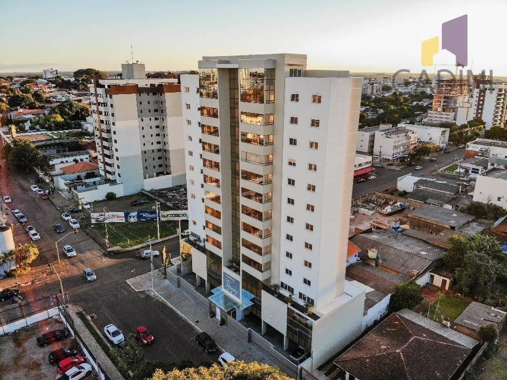 apartamento à venda com 3 quartos sendo 1 suíte no bairro centro - cascavel/pr - ap0306