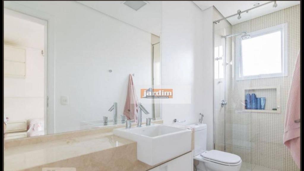 apartamento à venda com 300 m²  4 suítes e 5 vagas - jardim - santo andré/sp - ap6192